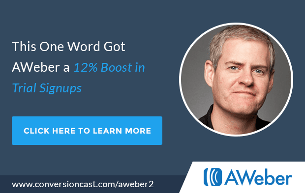 How AWeber Boosted Trial Signups 12%