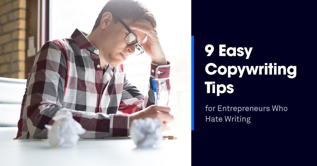 9 easy copywriting tips