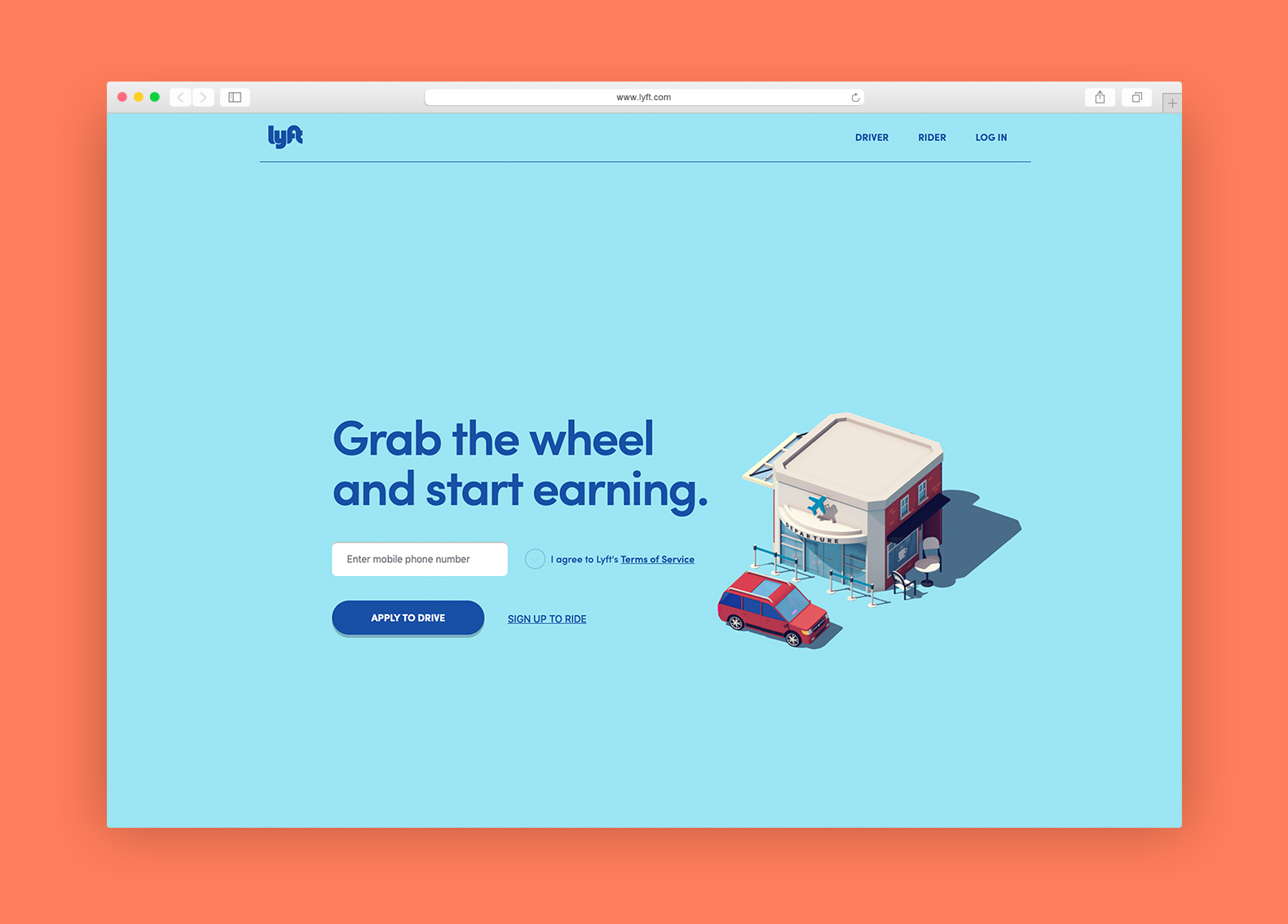 lyft browser example