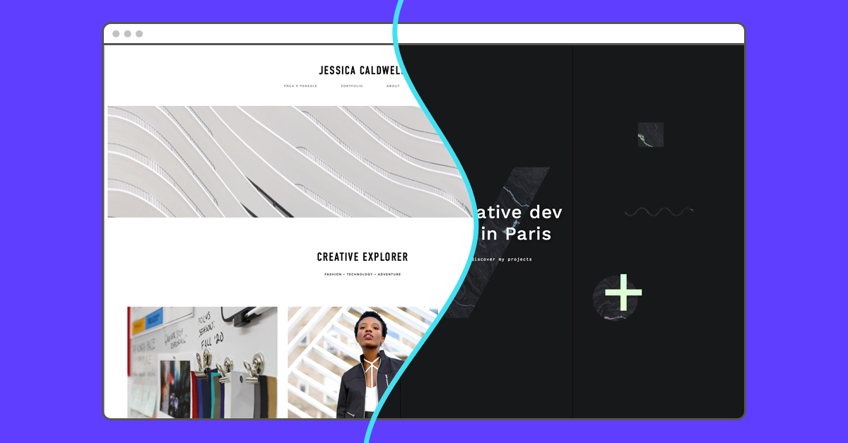 landing page vs. home page
