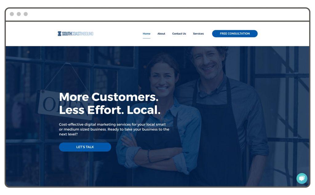 Digital Marketing Agency Website Example Leadpages Site Builder
