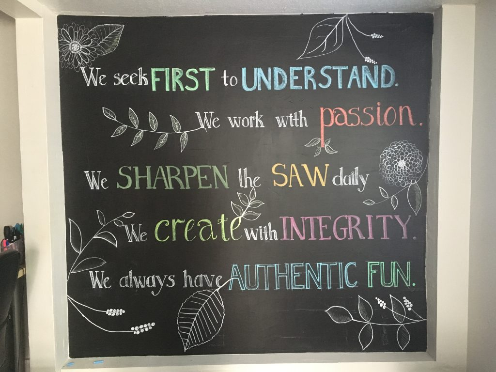 Core Values at authenticWEB marketing
