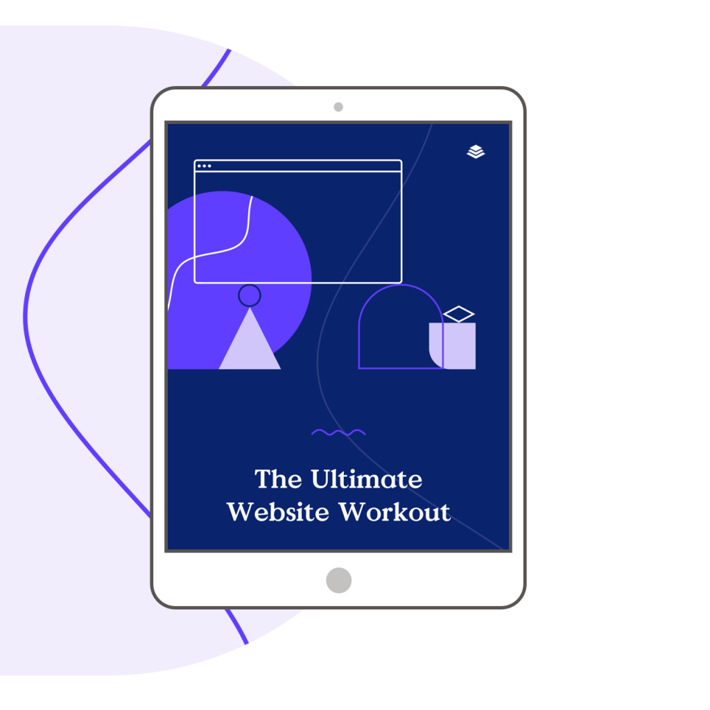 Creating your website? Don't wing it!  Set Goals, Plan Content, and Track Performance with your free website workbook.