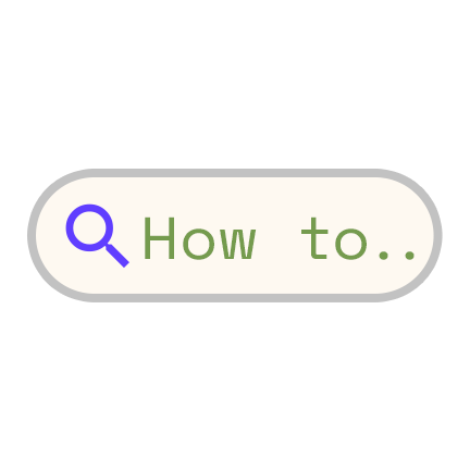Search 'how to'