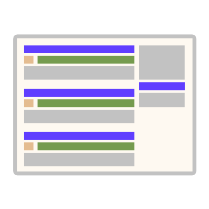 Rank and retrieve page data