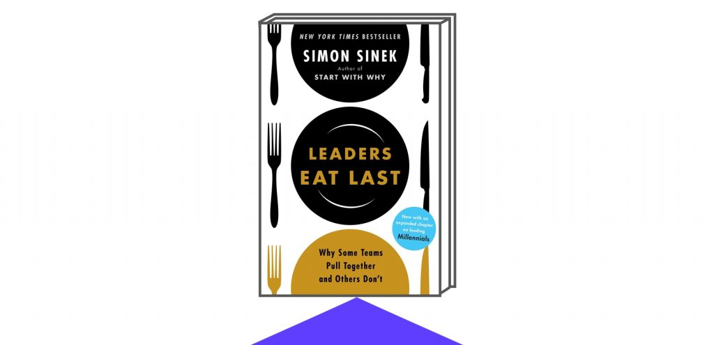 Book Cover of Leaders Eat Last