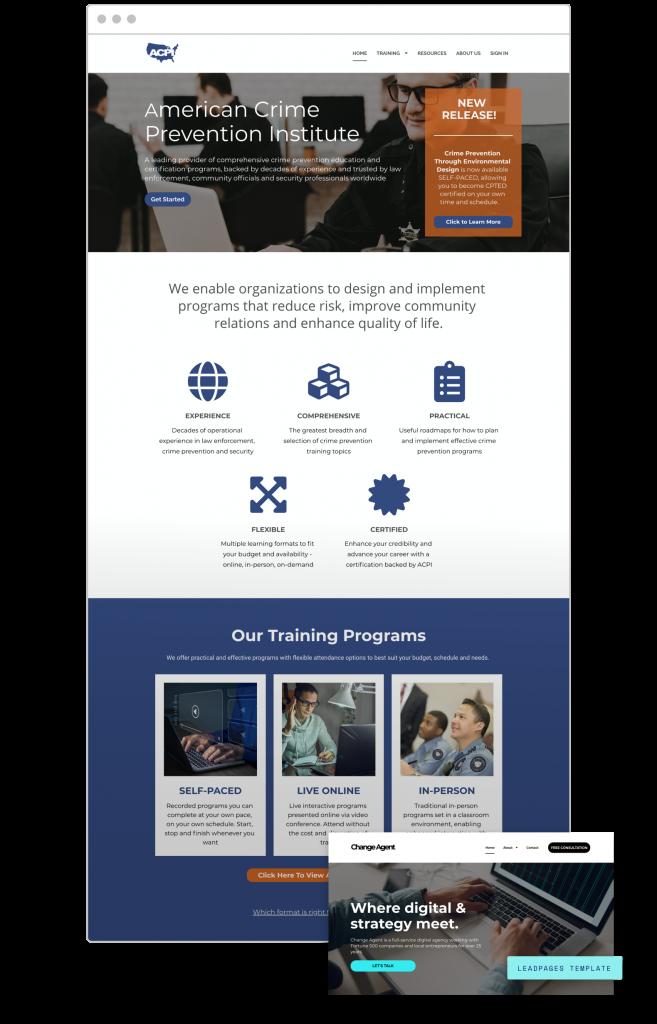 website creators American Crime Prevention Institute - Training and Consulting