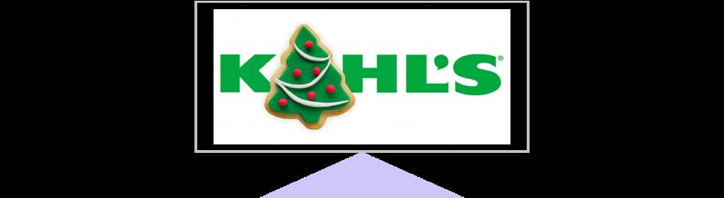holiday marketing Kohl's holiday logo
