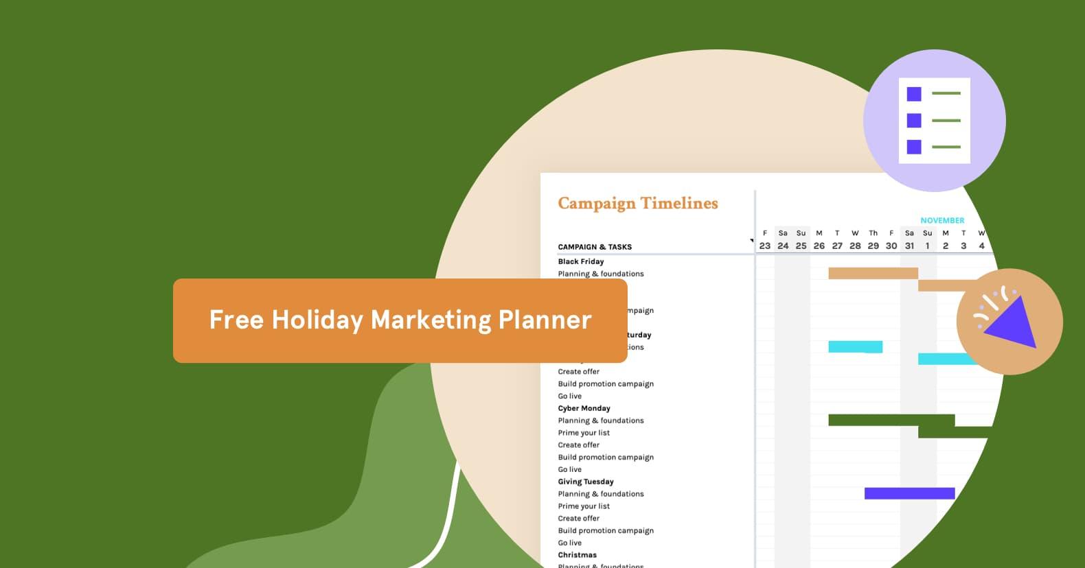 Seasonal marketing 2021 Holiday Marketing Calendar