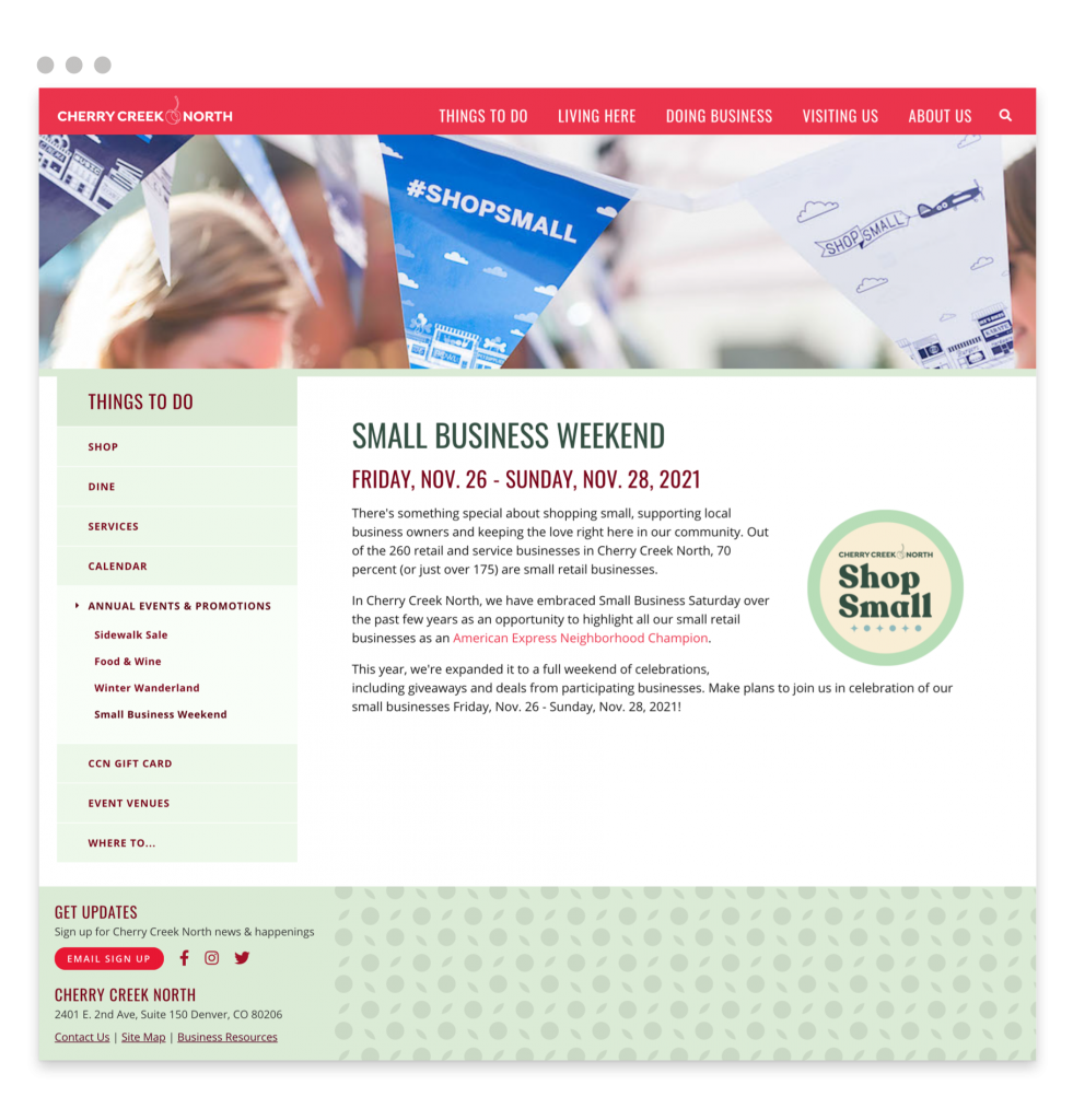 How to prepare for Small Business Saturday 2021