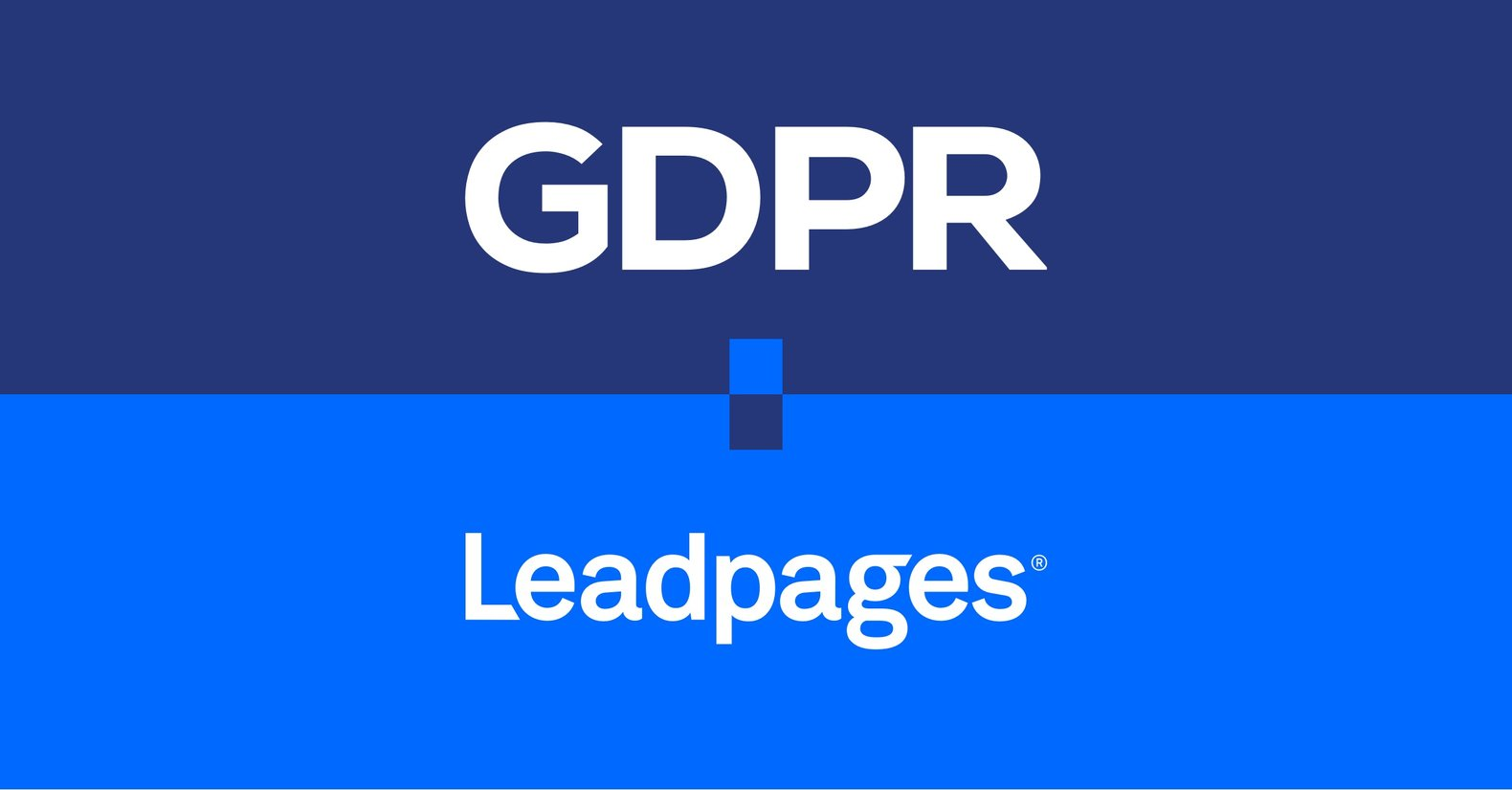 Leadpages-GDPR